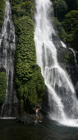 Excellent banyumala waterfalls