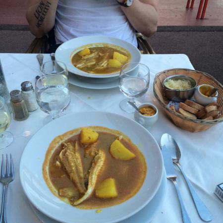 Bouillabaisse for two picture of le restaurant l hippocampe marseille tripadvisor - Restaurant bouillabaisse marseille vieux port ...