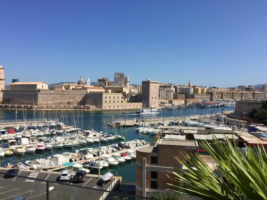 View from the 3rd floor restaurant terrasse picture of - Restaurant italien marseille vieux port ...