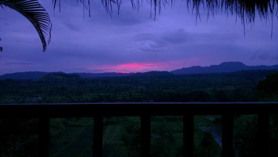 Kubu Carik Bali: Sunset from room