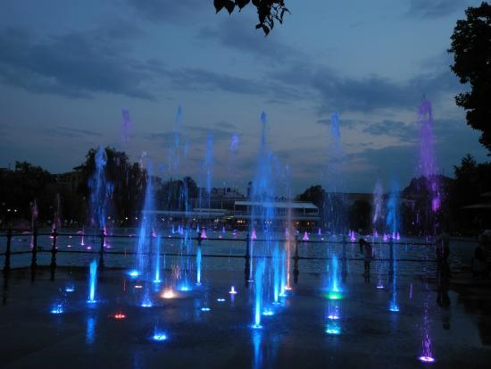 Πλόβντιβ, Βουλγαρία: Поющие фонтаны