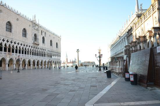 Alloggi alla Scala: Утро в Венеции