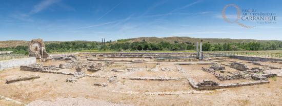 Parque Arqueológico de Carranque: Edificio Palacial