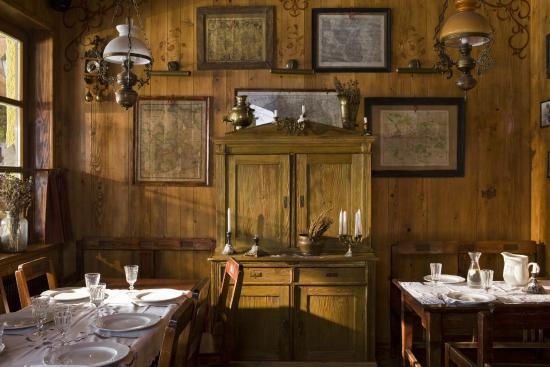Chata Wędrowca - Restauracja