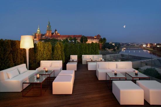 Sheraton Grand Krakow: Roof Top Terrace & Lounge Bar