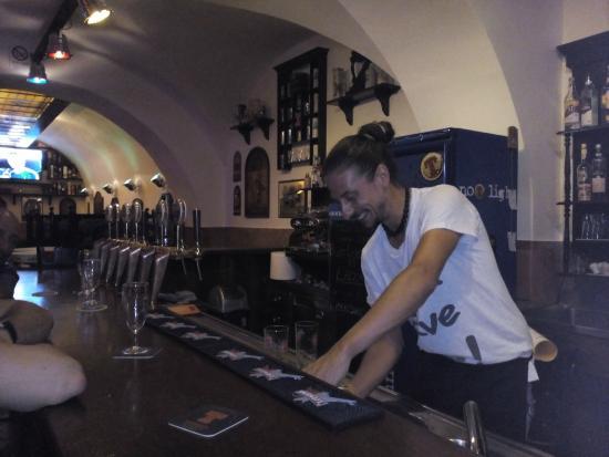 Marino, Italia: Fabio