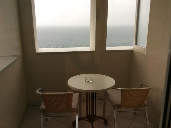 Hotel Galeb: Purtroppo pioveva