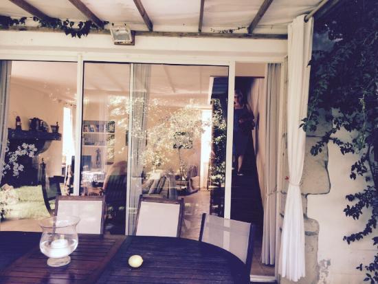 Maison Beltzenia : La terrasse