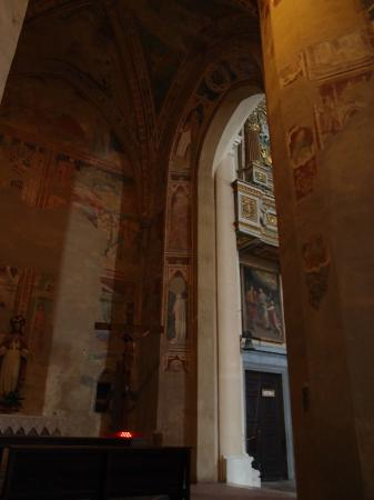 Kirche San Domenico: Фрески