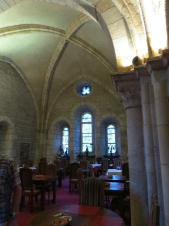 Auberge de La Chapelle: salle du restaurant