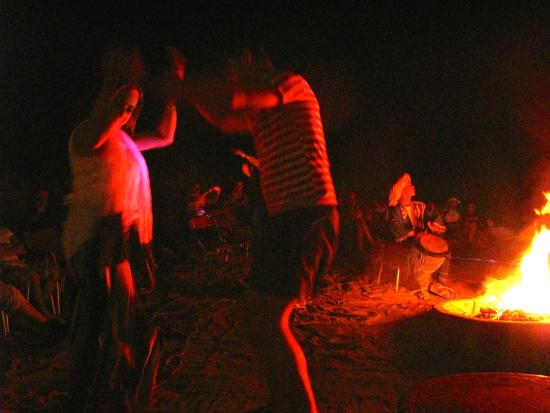 Sahara Garden: Fireside Berber music and dance