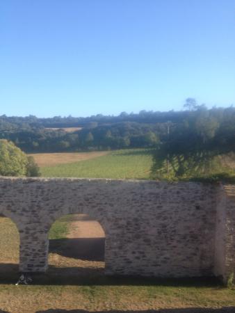 Villardonnel, France: Vue de notre chambre