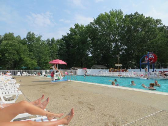 Ocean View Resort Campground: Piscine du camping