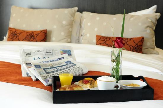 Urban Suites Recoleta Boutique Hotel: In room Breakfast