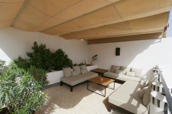 Riad Tchina: Terrasse
