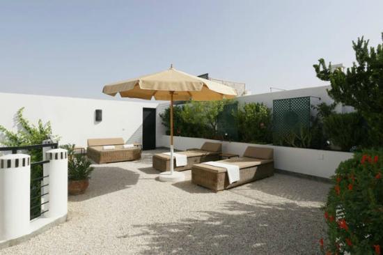 Riad Tchina : Terrasse