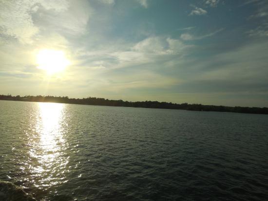 Гананок, Канада: Gün batımında geri dönüş