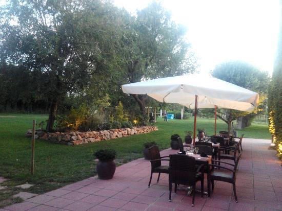 Fontclara, Espanha: jardin