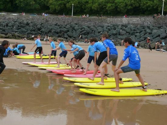 TAKAMAKA Biarritz : Cours de surf