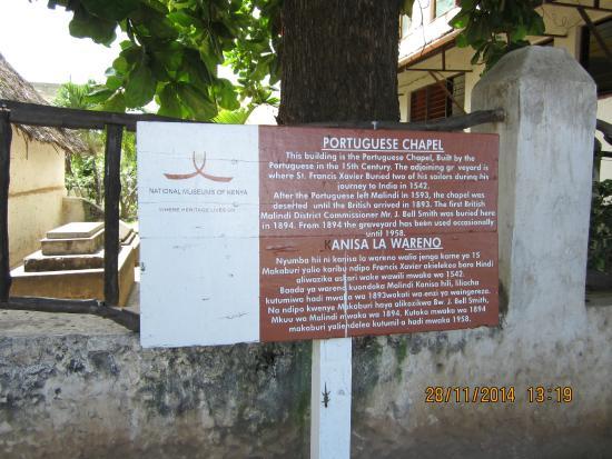 Portuguese Church: Краткая история часовни