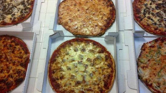 Quonset pizzas