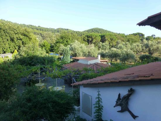 Villa Angela: Ausblick vom Balkon