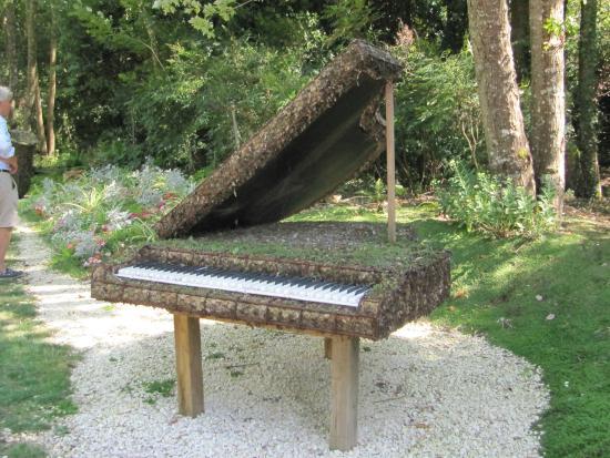 Saint-Cyr-en-Talmondais, Francia: Un salon de musique fabuleux