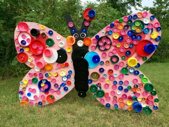 Colorful World ! Love This Butterfly Which Buttons Were