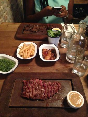 Flat Iron Steak Picture Of Flat Iron Beak Street London