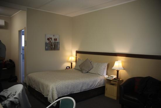 Gilgandra Motel : supportive bed