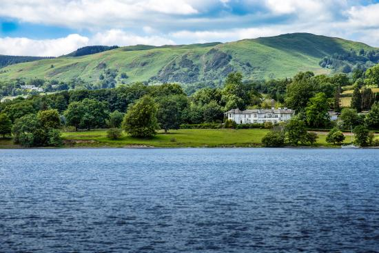Rampsbeck Country House Hotel : Hotel from across the lake