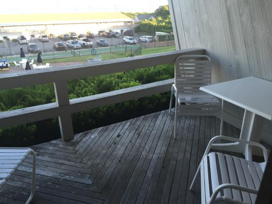 Beachcomber Resort At Montauk: The porch