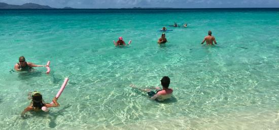 Κόλπος Simpson (Λιμνοθάλασσα), Άγιος Μαρτίνος: The water was amazing