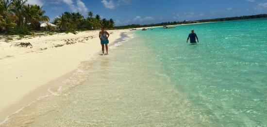 Κόλπος Simpson (Λιμνοθάλασσα), Άγιος Μαρτίνος: Beautiful beach and water