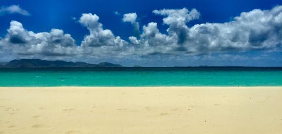 "Simpson Bay, St-Martin/St Maarten: View from the ""Sunshine Shack"""