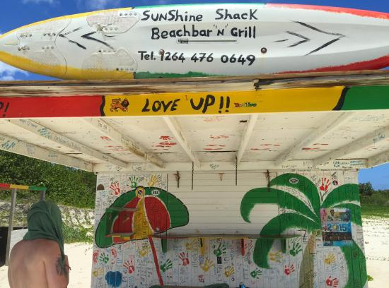 "Simpson Bay, St. Maarten-St. Martin: The ""Sunshine Shack"" was closed while owner was on vacation. The Dude lives in Paradise; where w"