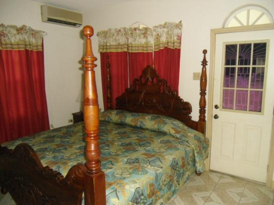 Star Castle Guest House : one of the lovely rooms at Star Castle Westmoreland Jamaica