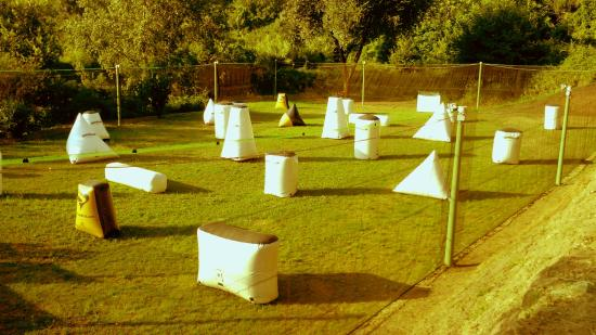 Salerno, Italia: Campo Paintball