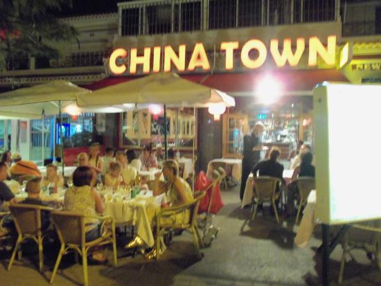 front terrace picture of china town chinese restaurant costa del silencio tripadvisor. Black Bedroom Furniture Sets. Home Design Ideas
