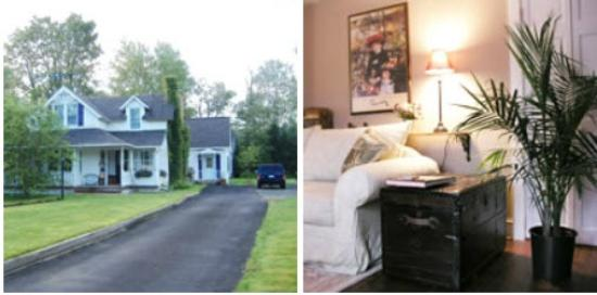 Winterberry Bed & Breakfast: House and Room