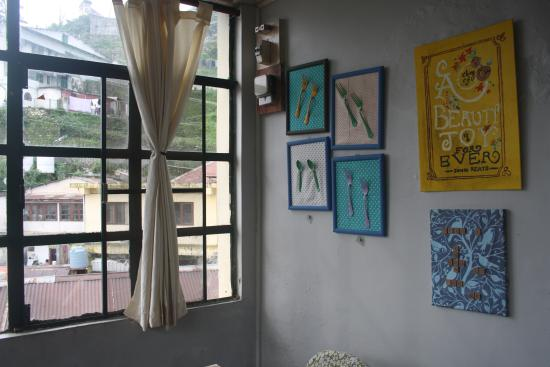 Chhaya Cafe: Posters at the cafe