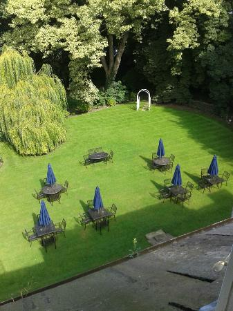 The Old Deanery: View from our bedroom to the Garden
