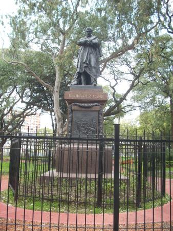 Monumento a Nicolas Rodriguez Pena