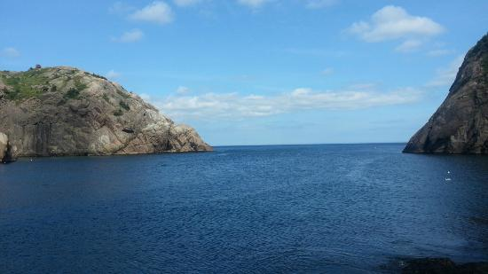 Quidi Vidi Battery: Look out from the village.