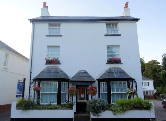 Canterbury House: The  Canterbury Hotel, Sidmouth.