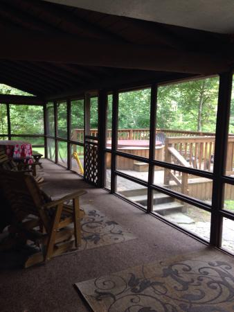 Balcony - Cheat River Lodge and Riverside Cabins Photo