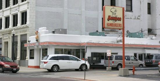 Kewpee Hamburgers: Kewpee Burger downtown Lima location