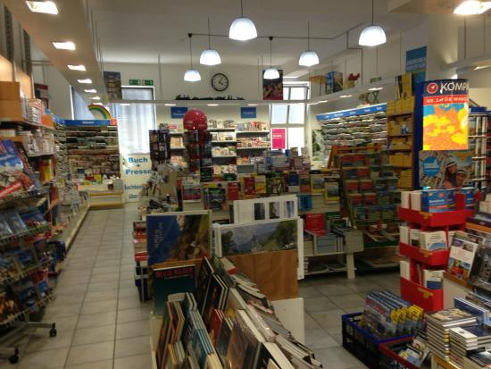 Bad Reichenhall, Germany: Great amount of Magazines