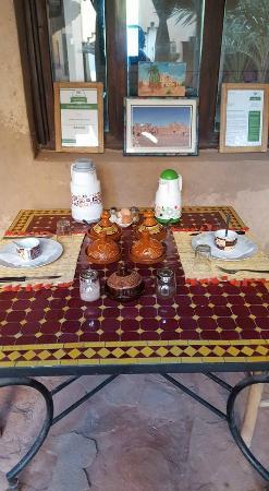 Kasbah Ait Moussa: Pre-colazione