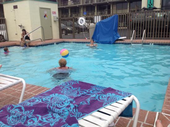 Executive Motel: Love the pool.
